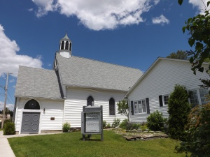 Photo of Haliburton United Church in Haliburton, Ontario, Canada