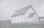 The First Methodist Church in Haliburton, Ontario, Canada, from a 1906 post card